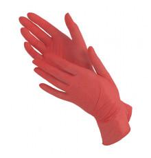 Нитриловые перчатки размер L Чистовье для окрашивания волос и защиты рук при окрашивании и химической завивке
