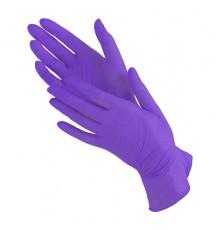 Нитриловые перчатки размер S Safe and Care Чистовье для окрашивания волос и защиты рук при окрашивании и химической завивке