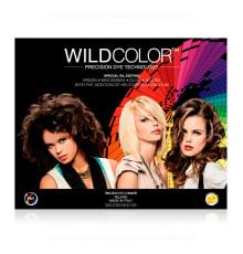 Карта Вайлд Колор средняя Wild Color Permanent Hair Color палитры оттенков волос
