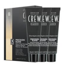 Камуфляж 2/3 темный натуральный American Crew Coverage Light для седых волос