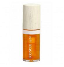 Масло для губ Eco Soul Lip Oil 03 Grapefruit 35 мл - The Saem