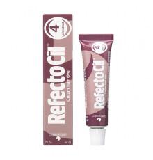 Краска 4.1 RefectoCil Eyelash and Eyebrow Tints Red для ресниц 15 мл.