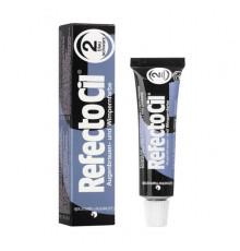 Краска 2 RefectoCil Eyelash and Eyebrow Tints Blue Black для ресниц 15 мл.