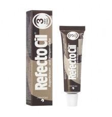 Краска 3 RefectoCil Eyelash and Eyebrow Tints Natural Brown для ресниц 15 мл.