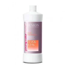 Активатор vol 15 4,5% Revlon Professional Young Color Excel Energizer Plus для краски 900 мл.