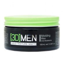 Моделирующий воск Schwarzkopf Professional [3D]Men Hold Texture Definition Molding Wax для укладки волос 100 мл.
