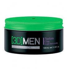 Текстурирующая глина Schwarzkopf Professional [3D]Men Hold Texture Definition Texture Clay для укладки волос 100 мл.