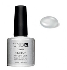 Гелевое покрытие 32 Creative CND Shellac Silver Chrome