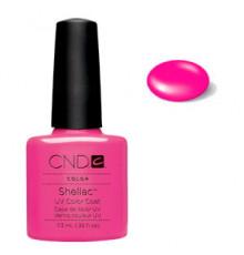 Гелевое покрытие 19 Creative CND Shellac Hot Pop Pink