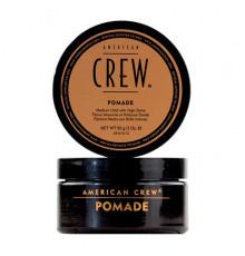 Помада средней фиксации American Crew Styling Pomade для укладки волос с высоким уровнем блеска