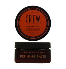 Паста средней фиксации American Crew Styling Defining Paste для укладки волос с низким уровнем блеска