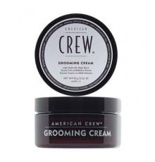 Крем сильной фиксации American Crew Styling Grooming Cream для укладки волос с высоким уровнем блеска