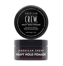 Помада сильной фиксации American Crew Styling Heavy Hold Pomade для укладки волос с высоким уровнем блеска