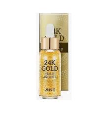 Омолаживающая сыворотка с 24K золотом Jungnani Jnn-II 24K Gold Halo Ampoule , 30мл