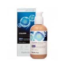 Коллагеновый тональный крем с эффектом сияния 21 FarmStay Collagen Water Full Moist Luminous Foundation , 100 мл