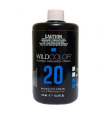 Крем-эмульсия окисляющая 6 % (20 Vol.) Wild Color Oxidizing Emulsion Cream для краски 270 мл
